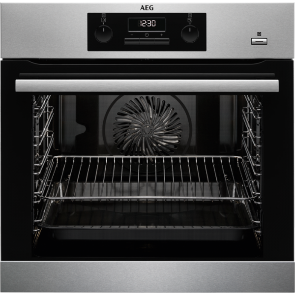 Hai-End.com AEG BEB351010M - Einbauherd/Backofen - Stainless steel with antifingerp