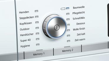 Siemens wt7yh701 selfcleaning condenser wärmepumpentrocknerhai end