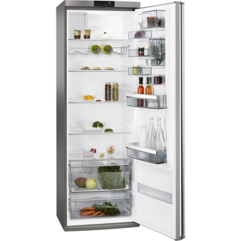 AEG RKB64024DX - Kühlschrank - Silver+Stainless Steel Door with