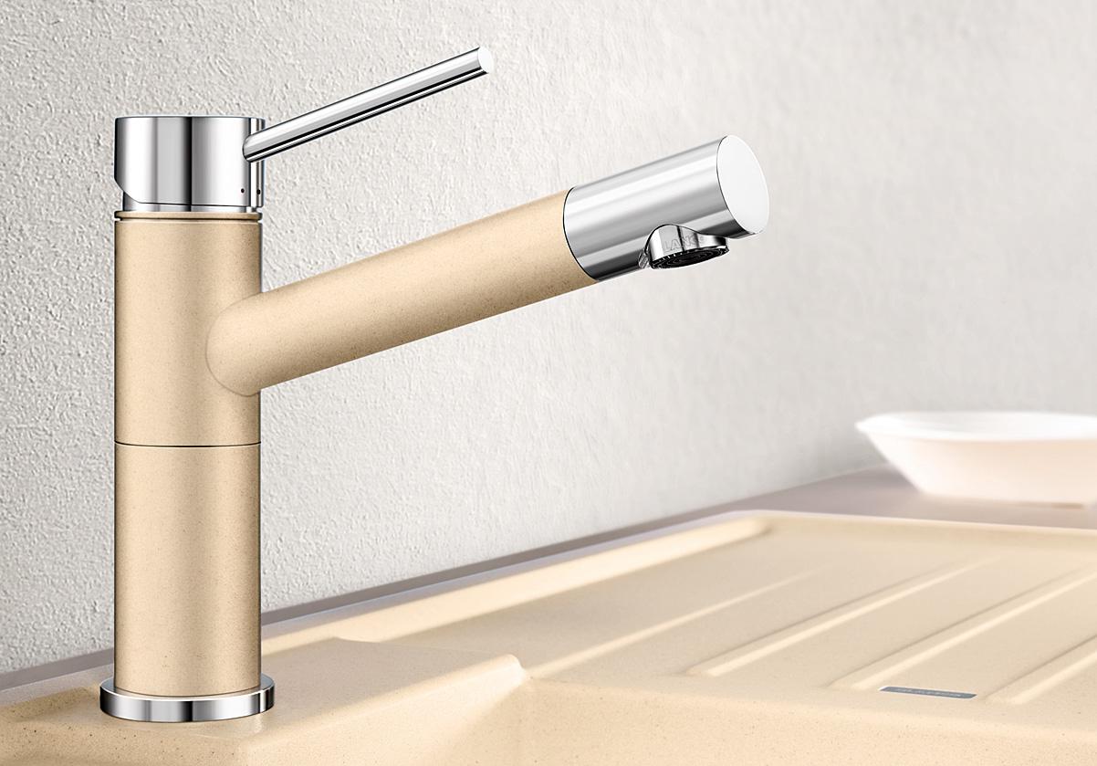 blanco alta compact hochdruck alumetallic chrom hai end. Black Bedroom Furniture Sets. Home Design Ideas