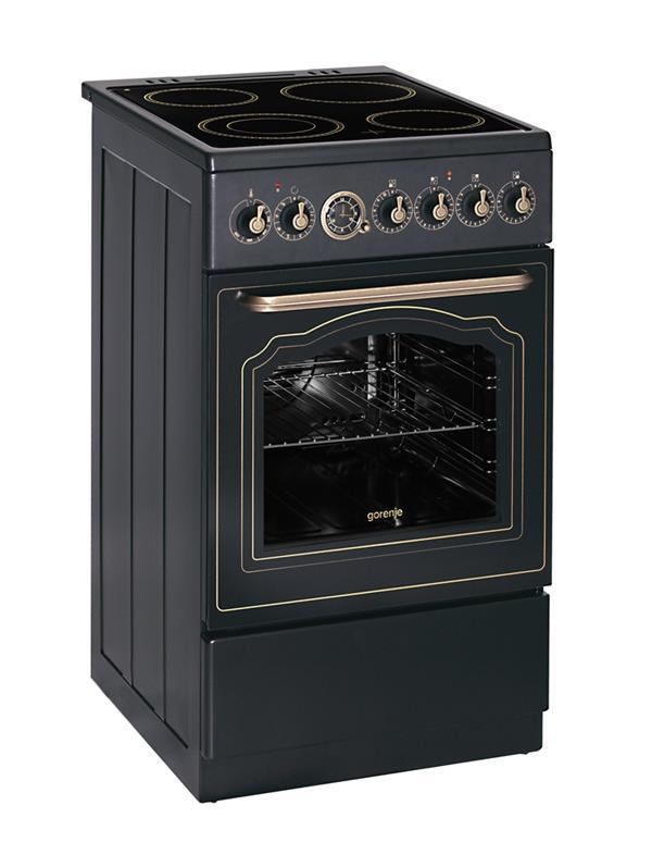 gorenje ec52clb classico line standherd schwarz matt. Black Bedroom Furniture Sets. Home Design Ideas