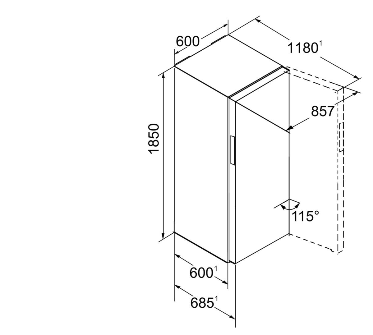 liebherr kbpgb 4354 20 premium stand k hlschrank mit biofresh hai end. Black Bedroom Furniture Sets. Home Design Ideas