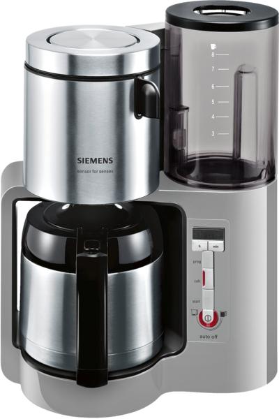 siemens tc86505 thermo kaffeemaschine 8 tassen. Black Bedroom Furniture Sets. Home Design Ideas