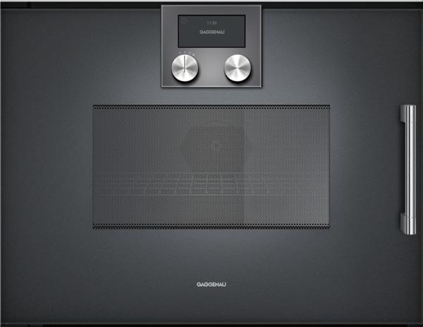 gaggenau bmp251100 mikrowellen backofen serie 200 vollglast r in gaggenau anthrazit breite. Black Bedroom Furniture Sets. Home Design Ideas