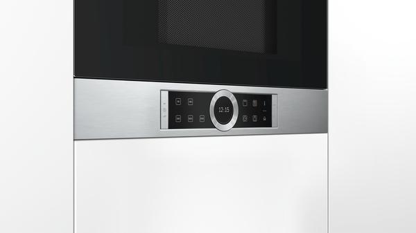 bosch bel634gs1 edelstahl einbau mikrowelle hai end. Black Bedroom Furniture Sets. Home Design Ideas