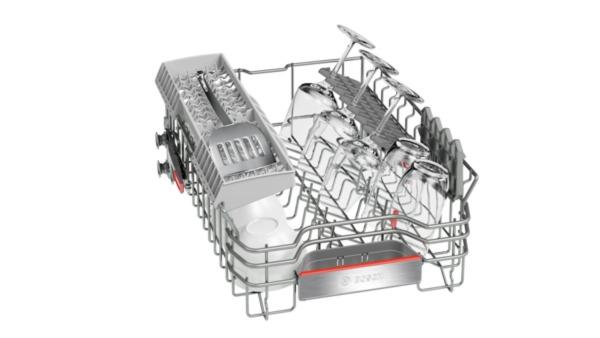 bosch spi66ps00e supersilence geschirrsp ler 45 cm integrierbar edelstahl hai end. Black Bedroom Furniture Sets. Home Design Ideas