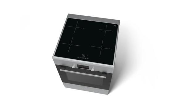 bosch hca748450 edelstahl elektro standherd 60 cm breit mit induktions kochfeld hai end. Black Bedroom Furniture Sets. Home Design Ideas