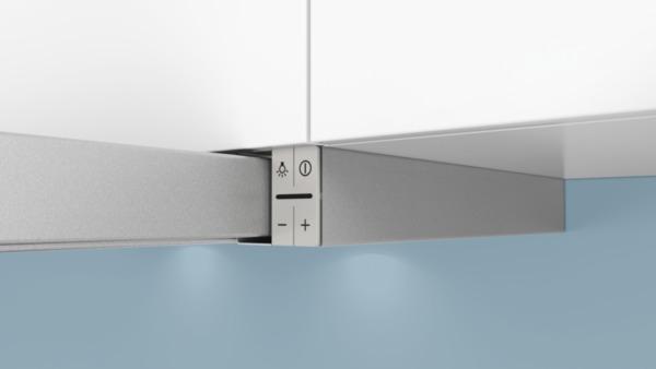 siemens li67ra530 silbermetallic 60 cm flachschirmhaube hai end. Black Bedroom Furniture Sets. Home Design Ideas
