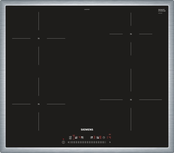 siemens eh640feb1e 60 cm induktions kochfeld autark. Black Bedroom Furniture Sets. Home Design Ideas