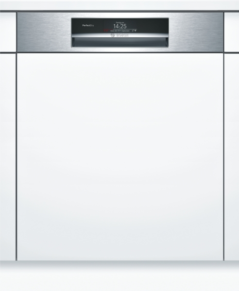 bosch smi88ts36e perfectdry geschirrsp ler 60 cm home connect integrierbar edelstahl hai end. Black Bedroom Furniture Sets. Home Design Ideas