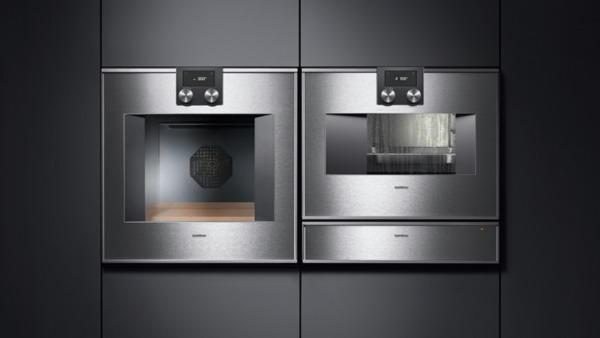 gaggenau ws461110 w rmeschublade serie 400 edelstahl hinterlegte glasfront breite 60 cm. Black Bedroom Furniture Sets. Home Design Ideas