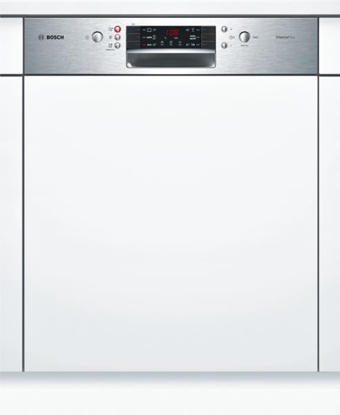 bosch smi46ms01e silence plus geschirrsp ler 60 cm integrierbar edelstahl hai end. Black Bedroom Furniture Sets. Home Design Ideas