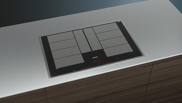 siemens ex845lyc1e 80 cm induktions kochfeld autark glaskeramik hai end. Black Bedroom Furniture Sets. Home Design Ideas