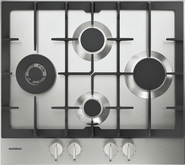 gaggenau cg261210de gaskochfeld serie 200 edelstahl breite 60 cm erdgas 20 mbar d sen. Black Bedroom Furniture Sets. Home Design Ideas