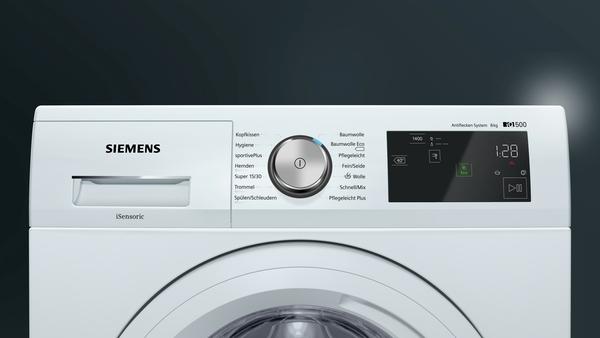 siemens wm14t5em waschmaschine hai end. Black Bedroom Furniture Sets. Home Design Ideas