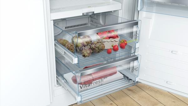 Kühlschrank Einbau : Bosch kif42ad40 smartcool einbau kühlschrank flachscharnier