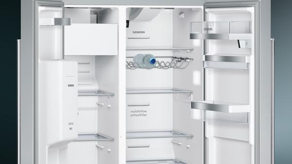 Side By Side Kühlschrank Ratenzahlung : Siemens ka dhi nofrost kühl gefrierkombination side by side