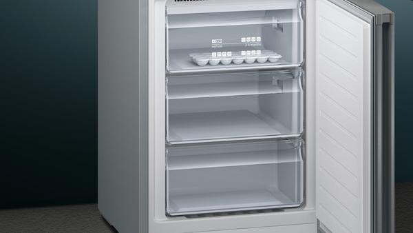 Siemens Kühlschrank Edelstahl : Siemens kg36nvl3a nofrost kühl gefrier kombination türen