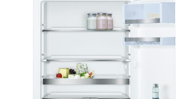 Bosch Kühlschrank Hydrofresh : Bosch kir ad einbau kühlschrank flachscharnier mit
