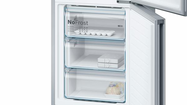 Bosch Kühlschrank Mit Kellerfach : Bosch kgf sw nofrost kühl gefrier kombination türen weiß