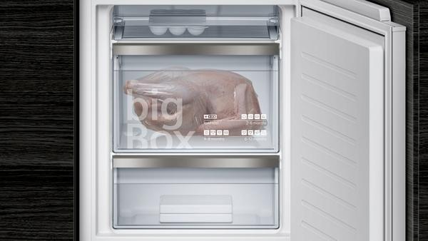 Kühlschrank Gefrierschrank Kombination : Siemens ki84fpf30 einbau kühl gefrier kombination flachscharnier