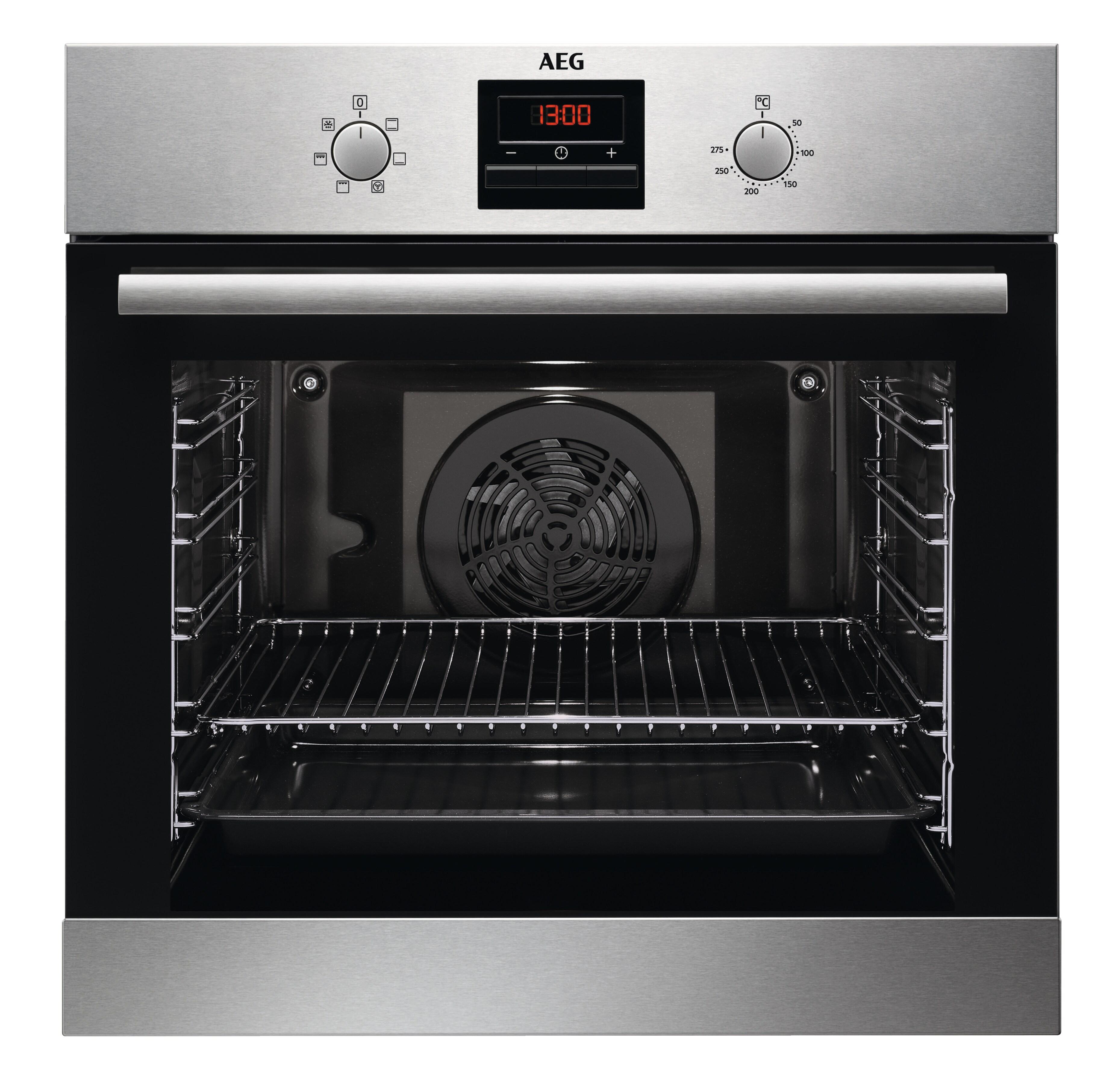 aeg bes33101zm einbauherd backofen stainless steel. Black Bedroom Furniture Sets. Home Design Ideas