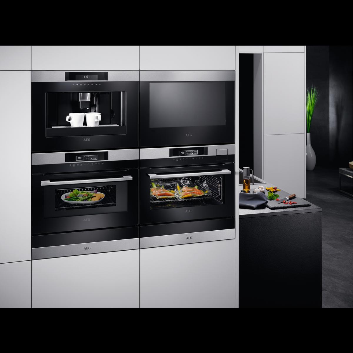 aeg kmk761000m einbauherd backofen edelstahl mit. Black Bedroom Furniture Sets. Home Design Ideas