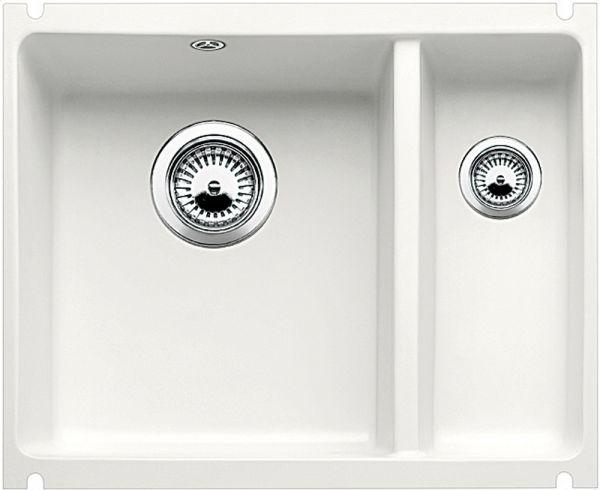 Blanco BLANCOSUBLINE 350/150-U Keramik weiß - Preisvergleich