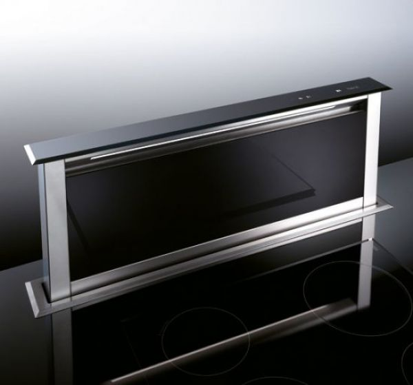 best dunstabzugshaube strip glas hf schwarz 90 hai end. Black Bedroom Furniture Sets. Home Design Ideas