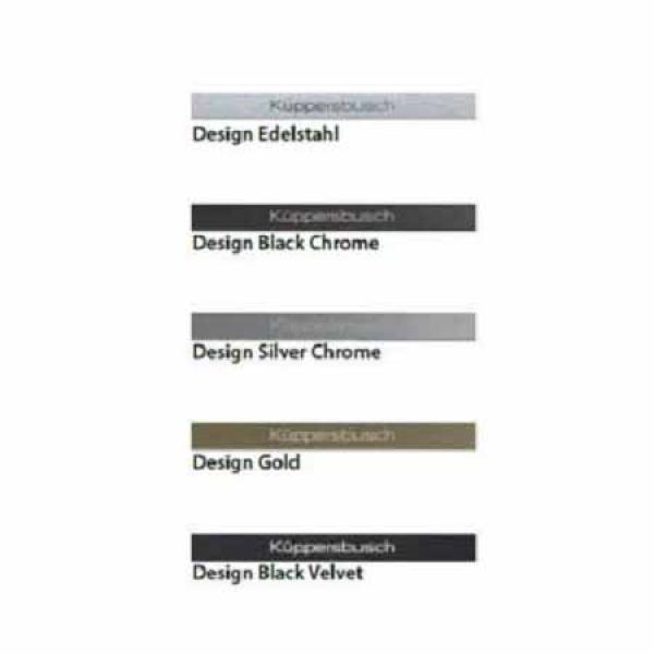 Küppersbusch 8955 - Design-Kit Black Velvet - Preisvergleich