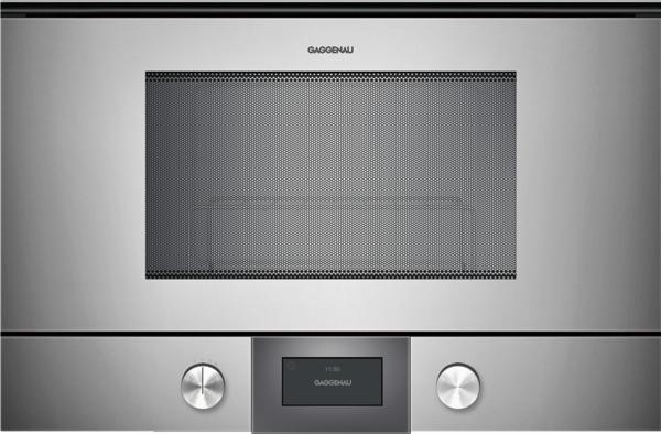 gaggenau bmp224110 mikrowelle serie 200 vollglast r in gaggenau metallic breite 60 cm. Black Bedroom Furniture Sets. Home Design Ideas