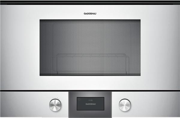 gaggenau bmp225130 mikrowelle serie 200 vollglast r in gaggenau silber breite 60 cm. Black Bedroom Furniture Sets. Home Design Ideas