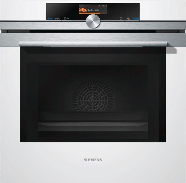 siemens backofen mit mikrowelle hm676g0w1 wei ebay. Black Bedroom Furniture Sets. Home Design Ideas