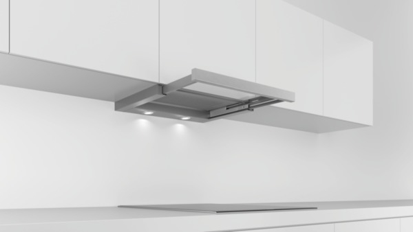 bosch dfl063w50 grau metallic 60 cm flachschirmhaube hai end. Black Bedroom Furniture Sets. Home Design Ideas