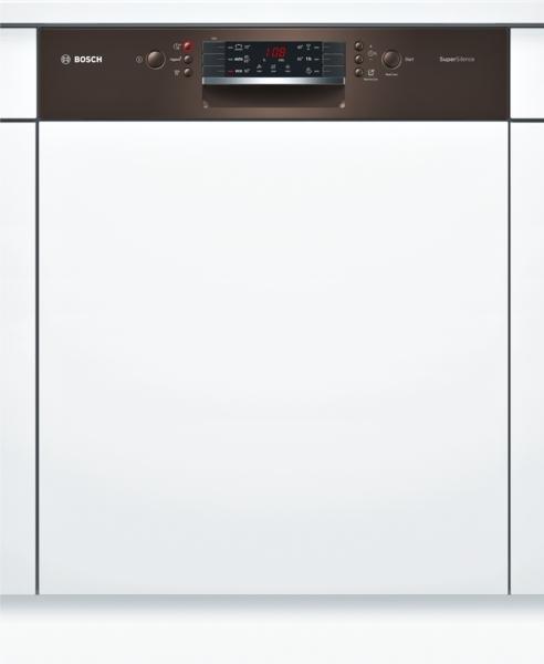 bosch smi46mm03e supersilence geschirrsp ler 60 cm integrierbar braun ebay. Black Bedroom Furniture Sets. Home Design Ideas