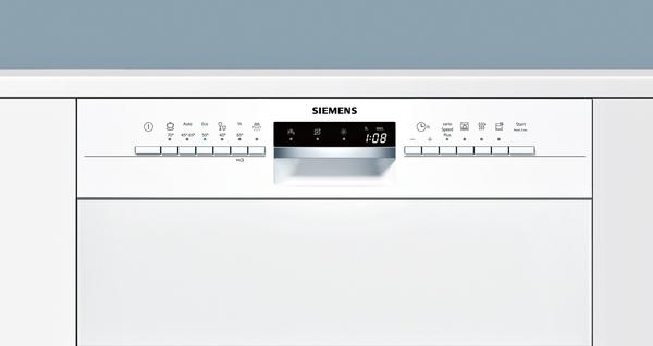 siemens sn536w03me integrierbar wei speedmatic geschirrsp ler 60 cm hai end. Black Bedroom Furniture Sets. Home Design Ideas