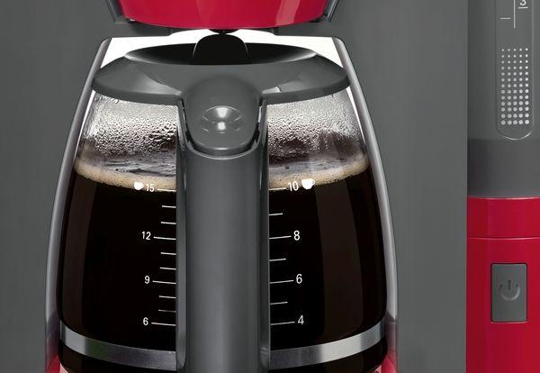 Bosch Coffee Maker Lights : Bosch TKA6A044 - ComfortLine - Filter coffee maker - Plastic - red/ anthracite eBay
