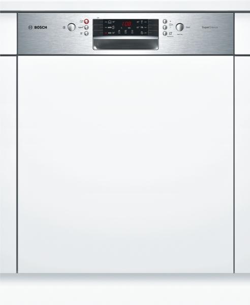 bosch smi46is03e supersilence geschirrsp ler 60 cm integrierbar edelstahl hai end. Black Bedroom Furniture Sets. Home Design Ideas
