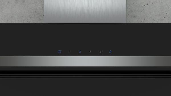 siemens lc87kim60 lc87kim60 schwarz schwarz mit glasschirm wand esse 80 cm hai end. Black Bedroom Furniture Sets. Home Design Ideas