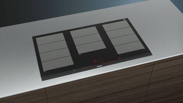 siemens ex975lxc1e 90 cm induktions kochfeld autark glaskeramik hai end. Black Bedroom Furniture Sets. Home Design Ideas
