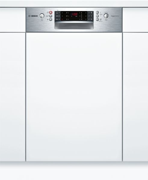 bosch spi66ts00e supersilence geschirrsp ler 45 cm integrierbar edelstahl hai end. Black Bedroom Furniture Sets. Home Design Ideas