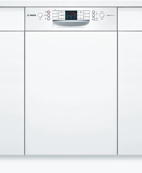 bosch spi46mw01e supersilence geschirrsp ler 45 cm integrierbar wei hai end. Black Bedroom Furniture Sets. Home Design Ideas