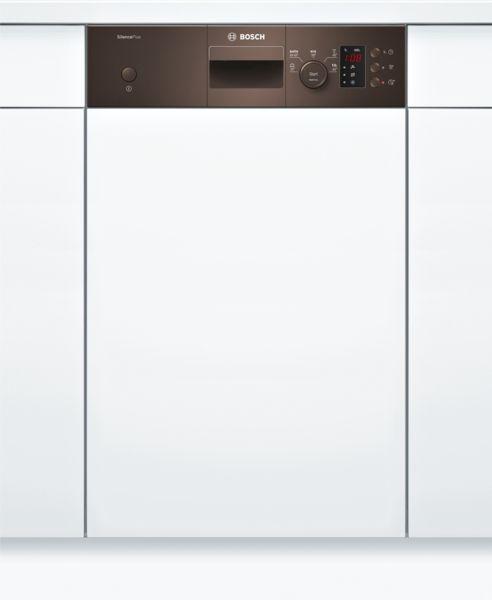 bosch spi25cm03e silence plus geschirrsp ler 45 cm integrierbar braun hai end. Black Bedroom Furniture Sets. Home Design Ideas
