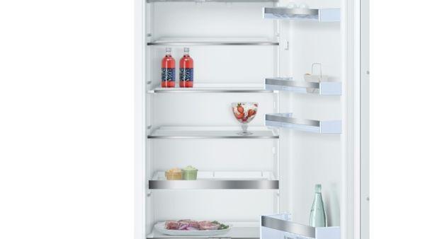 Bosch Kühlschrank Mit Kellerfach : Bosch kil ad smartcool einbau kühlschrank flachscharnier