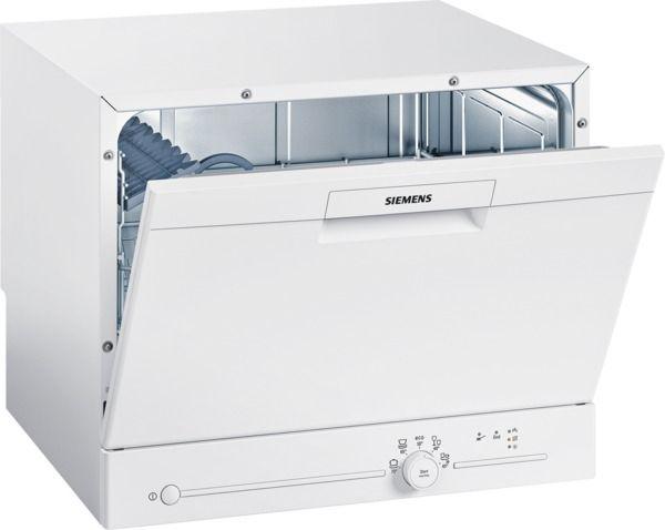 Details About Siemens Sk25e203eu   Speedmatic Compact Geschirrspüler    Auftischgerät   White