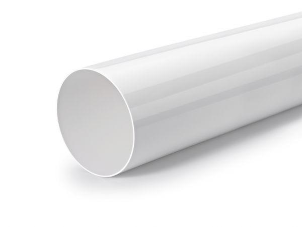 100mm No Retorno Tubo Conexi/ón PVC Blanco Redondo Reja