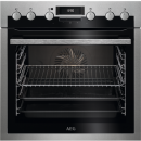 AEG ECE451010M - Einbauherd/Backofen - Stainless steel with antifingerp